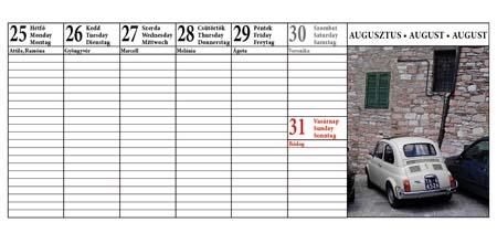 asztali naptár program Naptár készítés 1.270 Ft tól asztali naptár program