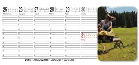heti naptár készítő program Naptár készítés 1.270 Ft tól heti naptár készítő program