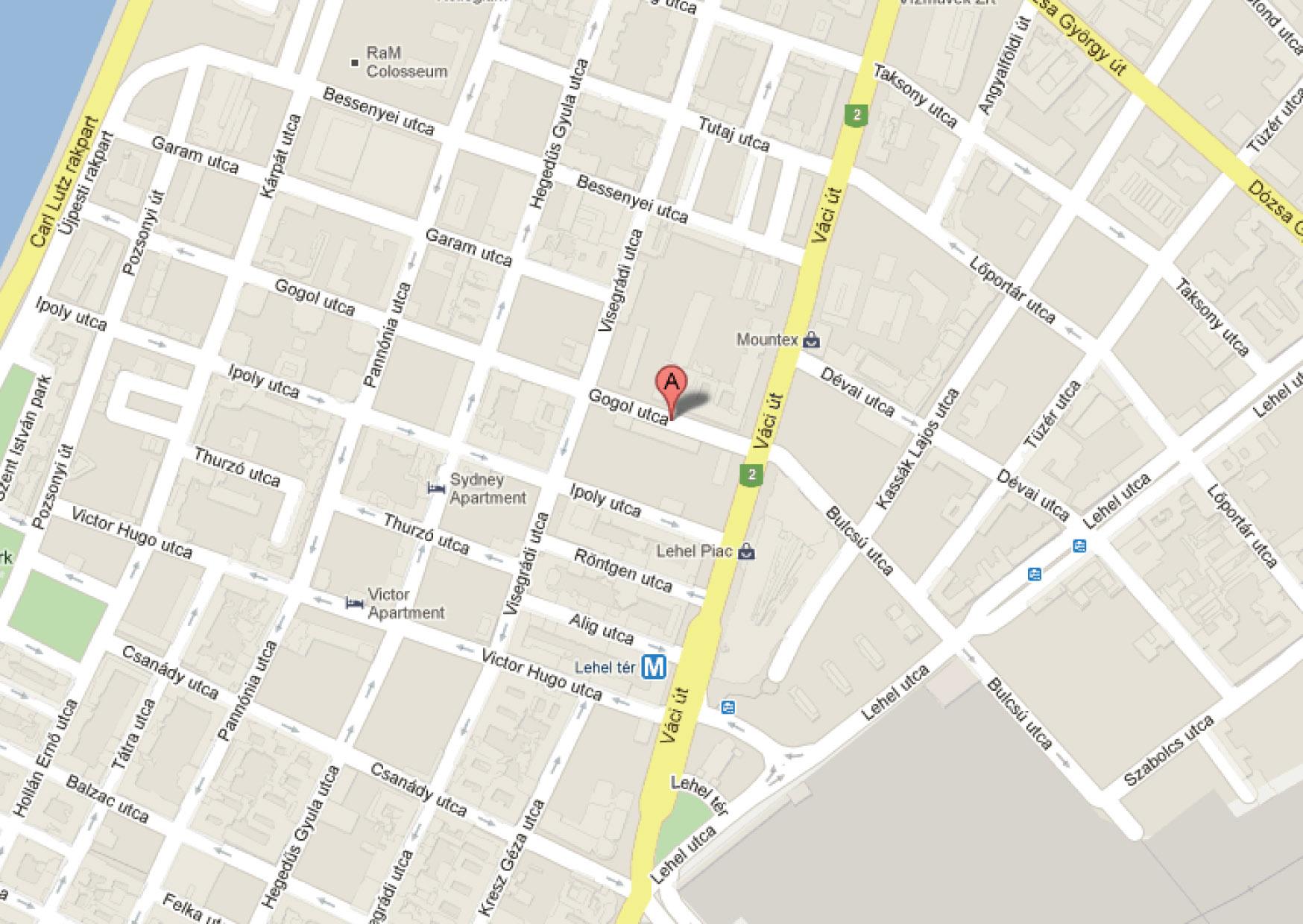 budapest utcái térkép Gogol utca üzletünk | Másoló Futár digitális nyomda budapest utcái térkép